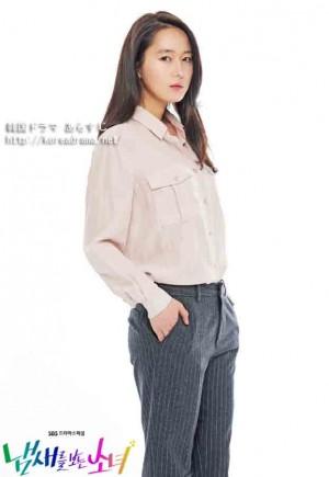 ユン・ジンソ 匂いを見る少女
